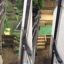 Before & After (view from bedroom)